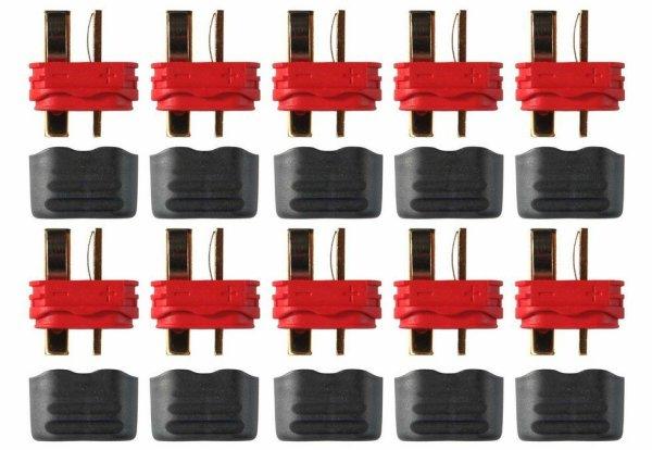 DEANS T-PLUG HOCHSTROM STECKER - 10 STÜCK PACKUNG #  AM-616-10M