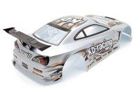 "RC CAR KAROSSERIE 1:10 ""NISSAN S15"" SILBER, DRIFT 190mm BREITE # HX011S"