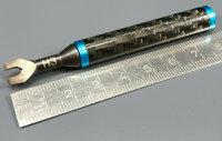SPEZIAL EINSTELLWERKZEUG FÜR SPURSTANGEN 3mm MIT CARBON/ALU GRIFF # DTT11083A