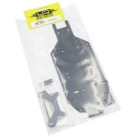 YEAH RACING CARBON CHASSIS KIT FÜR TAMIYA TA-02 / SW MODELLE # TA02-S01