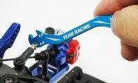 YEAH RACING - 3/4/5/5,5mm SPEZIAL EINSTELLWERKZEUG SPURSTANGEN  BLAU # YT-0197BU