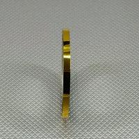ZIERLINIEN LINIER BAND FINELINE TAPE KONTURENBAND GOLD 18m / 2mm BREIT # 19414