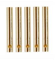 GOLDKONTAKTE GOLDSTECKER GOLDBUCHSEN 2mm 3,5mm 4mm 5mm 5,5mm - WÄHLEN SIE AUS !(2mm Buchsen (5 St.))