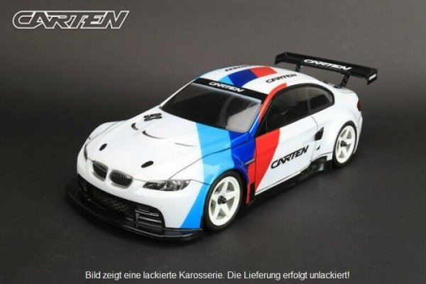 "CARTEN KAROSSERIEBAUSATZ ""BMW M3 E92 GT-2"" 1:10 UNLACKIERT 190MM BREITE # NHA901"