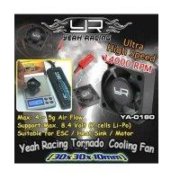 YEAH RACING 30mm RC DOPPEL LÜFTER TORNADO HIGH SPEED TURBO RC FAN # YA-0641