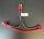 Y-KABEL ADAPTER T-PLUG DEANS STECKER (WEIBLICH) AUF 2x DEANS MÄNNLICH 100mm # DTC07013