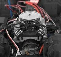 "MOTORATTRAPPE 1:10 ""V8"" 427 SOHC MIT DOPPEL-LÜFTER FÜR CRAWLER DRIFTER # RP0071"
