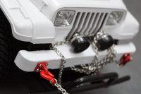 YEAH RACING ROCK CRAWLER SCALE LÜNETTEN RING SCHWARZ # YA-0462BK
