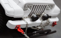YEAH RACING ROCK CRAWLER SCALE LÜNETTEN RING ROT # YA-0462RD