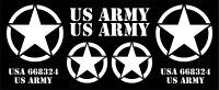 "DECAL AUFKLEBERBOGEN ""US ARMY"" WEISS..."