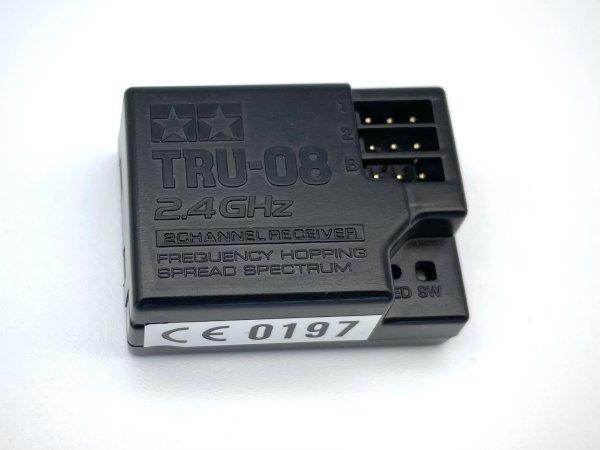 "TAMIYA 2-KANAL EMPFÄNGER ""TRU-08 "" 2.4 GHz. TT01 TT02 REELY # TRU-08"