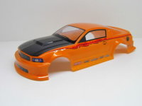 """RC CAR KAROSSERIE 1:10 """"MUSCLE COUPE"""" ORANGE /..."""