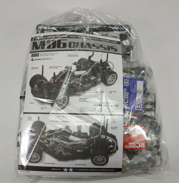TAMIYA M-06 RWD M CHASSIS BAUSATZ IN DER TÜTE - EXKLUSIV BY RACERS PARADISE
