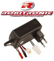 """AUTOM. 230V LADEGERÄT ROBITRONIC """"QUICK CHARGER"""" 4-8 Z. 1A NC/NiMH # R01001"""