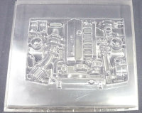 RC CAR ENGINE BAY BMW M50 TURBO LEXAN MOTOR ATTRAPPE FÜR LEXAN KAROSSERIE# 19140