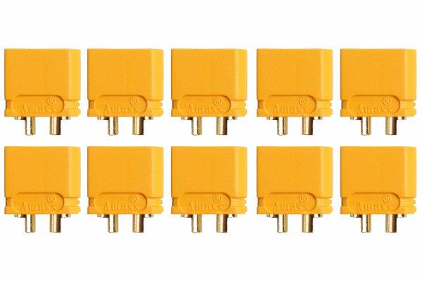 XT60U HOCHSTROM GOLDKONTAKT STECKER - 10 STÜCK PACKUNG #  AM-628-10M
