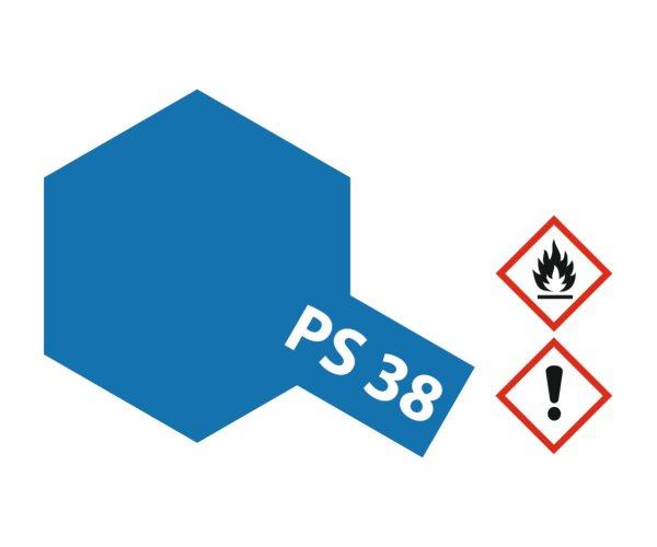 PS-38 Transluscent Blau