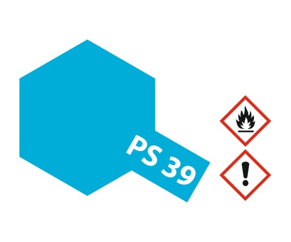 PS-39 Transluscent Hellblau