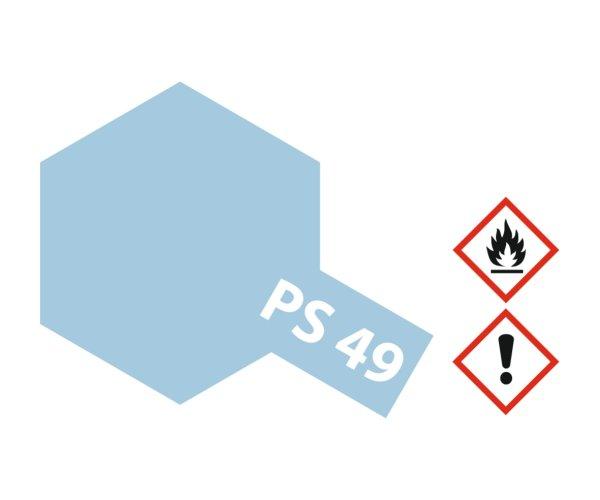 PS-49 Alu Effekt Blau