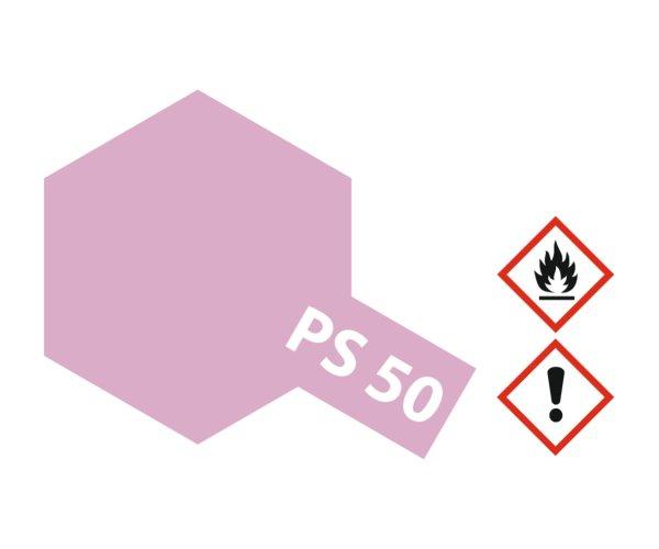PS-50 Alu Effekt Rot