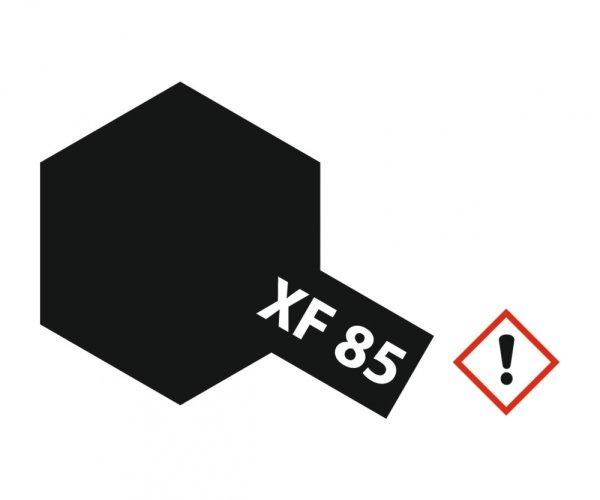 XF-85 Gummi-schwarz matt